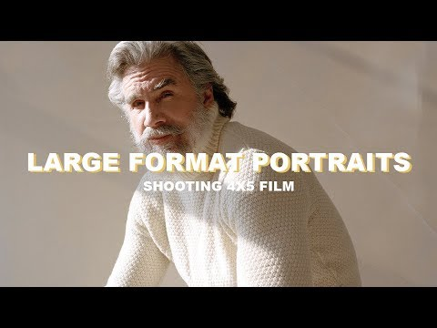 Shooting Large Format Film Portraits - First 4x5 film Experience