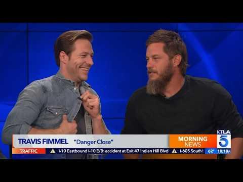 "Luke Bracey and Travis Fimmel Talk About Australia and ""Danger Close"""