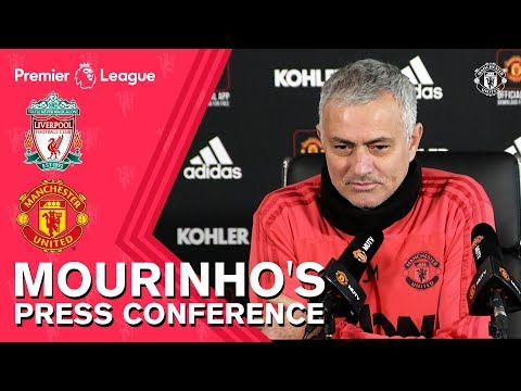 Jose Mourinho's Press Conference | Liverpool V Manchester United | Premier League