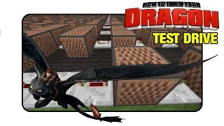 """How To Train Your Dragon """"Test Drive"""" - Minecraft Xbox  NoteBlock Song """