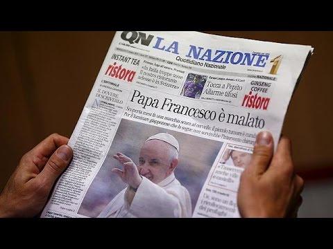 Διαψεύδει το Βατικανό τα περί βαριάς ασθένειας του Πάπα Φραγκίσκου