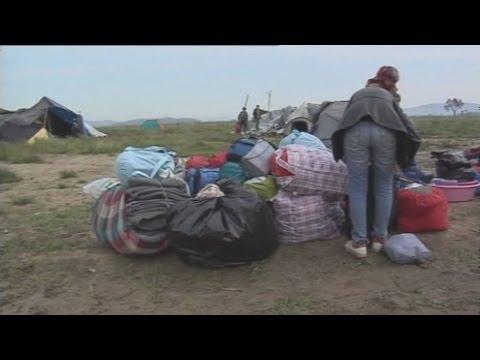 Ομαλά εξελίσσεται η επιχείρηση εκκένωσης της Ειδομένης