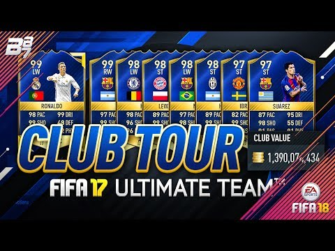 THE BEST CLUB IN FIFA! CLUB TOUR! TOTS COMPLETE AND THE 197!!   FIFA 17 (JULY)