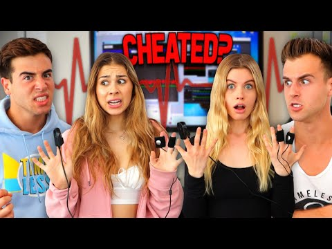 We Put Our GIRLFRIENDS On A LIE DETECTOR Test! (Secrets Revealed)