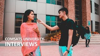 Video ASKING COMSATS ISLAMABAD STUDENTS ABOUT THEIR UNIVERSITY LIFE | Brief Interview - Comsats Islamabad MP3, 3GP, MP4, WEBM, AVI, FLV Oktober 2018