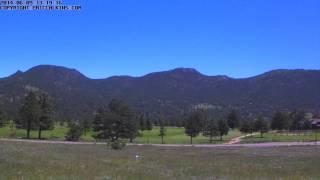 2014-06-09 - Estes Park 18 Hole Golf Course Time-Lapse