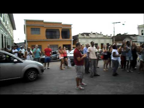 Manifestação em Rio Novo