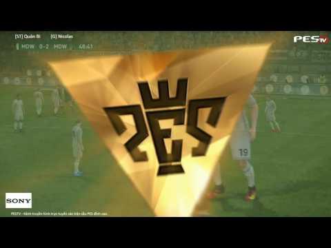 [PES 2017] [ST] Quân Bi vs [G] Nicolas | Sony Show 2016 Hà Nội | Semi-Final 1