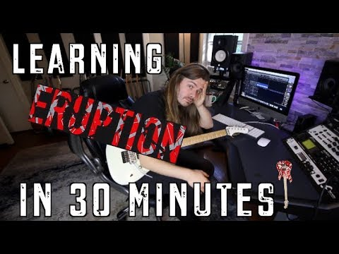 Learning Eruption In 30 Minutes! (видео)