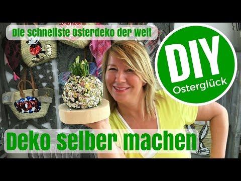 DIY-Deko Ideen selber machen - Die schnellste Osterdeko der Welt- von Imke Riedebusch