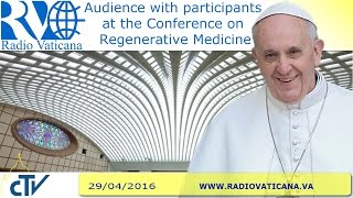 Audience to the Participants at the Conference on Regenerative Medicine - 2016.04.29