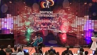 Franziska Peßler & Tobias Öttl - Deutsche Meisterschaft 2014