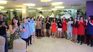 Dàn đồng ca toàn nữ DH logistics HN quẩy tung sân khấu