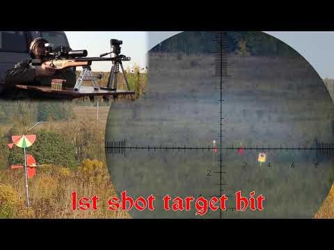 АНОНС: 1000 метров гонг 40см попадание с первого выстрела из винтовки калибра .308win - DomaVideo.Ru