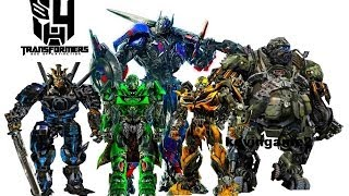 Transformers 4 : Age Of Extinction - Cast Robots