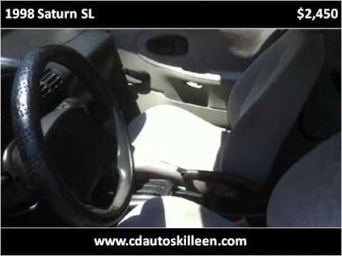 1998 Saturn SL Used Cars Killeen TX