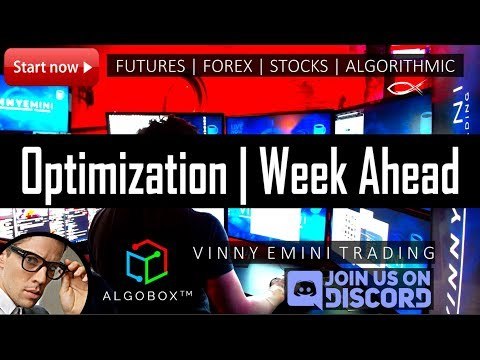 ALGORITHMIC TRADING | ✅ Optimization Process | Week Ahead | AlgoBox™​ Pro Trader