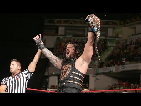 Roman Reigns wins the United States Title from Rusev: WWE Clash of Champions 2016