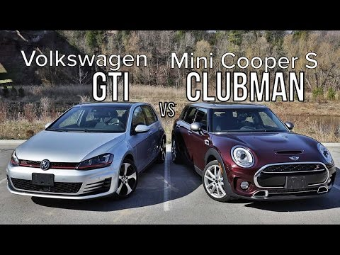2016 Volkswagen Golf GTI vs 2016 Mini Cooper S Clubman