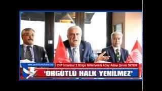 CHPİstanbul 2 Bölge Milletvekili A  Adayı Şinasi Öktem Basın Mensupları ile Projelerini paylaştı