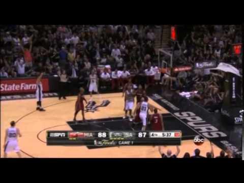 NBA 2014總冠軍賽G1,小綠綠13分全剪輯影片