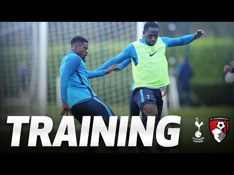 Video: TRAINING | Spurs gear up for AFC Bournemouth