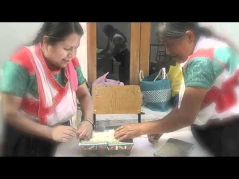 VÍDEO: Arte plumaria Museo Textil de Oaxaca