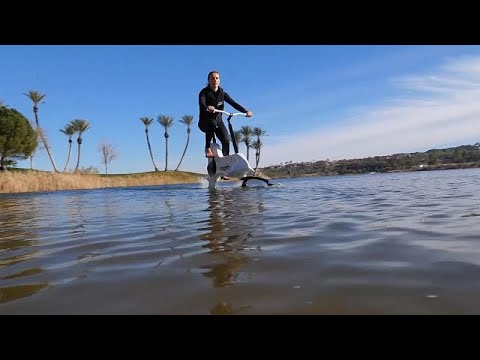 Ποδήλατο για μετακινήσεις μέσα στο νερό