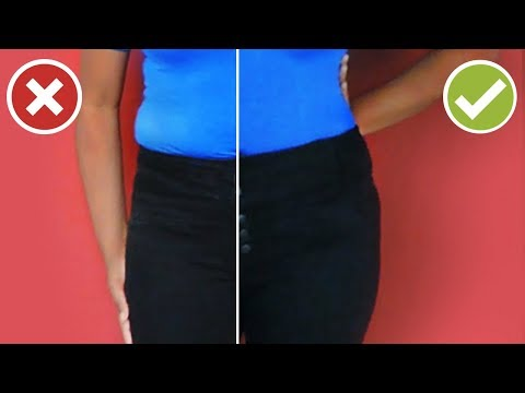 How to Loosen a Tight Pants Waist | DIY Easy Sewing Tutorial