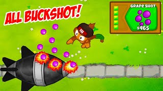 ALL Towers Get BUCKSHOT In Bloons TD6 (MODDED)