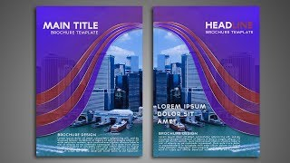 link: https:// https://youtu.be/oXzVkR-ey-0 Hello friends this is clean Brochure design tutorial in Photoshop cc. In this tutorial we will...