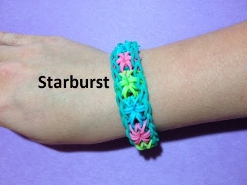 How to Make the Starburst Bracelet on the Rainbow Loom