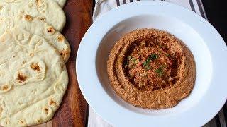 Muhammara (Roasted Pepper & Walnut Spread) - How to Make Muhammara Dip & Spread by Food Wishes