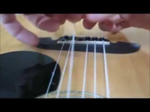 How to make dental floss guitar strings