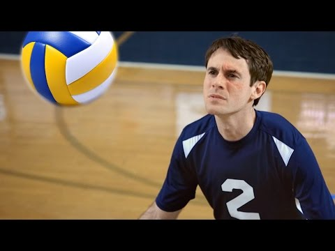The Volleyball Player Who Can Block Any Shot With His