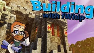 Building with fWhip :: Castle Throne Room :: #72 Minecraft 1.12 Single Player Survival