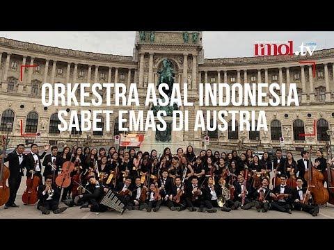 Orkestra Asal Indonesia Sabet Emas Di Austria