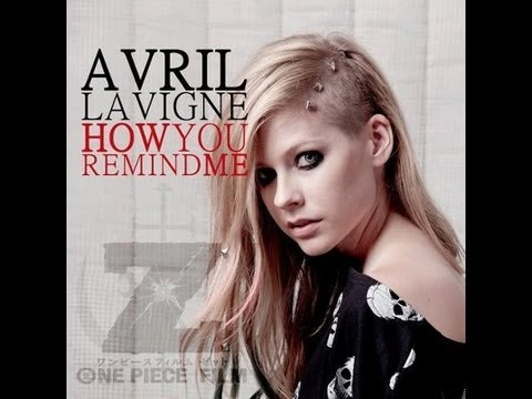 remind - Music video by Avril Lavigne performing How You Remind Me. (C) 2012 RCA Records. The full official How You Remind Me, cover by Avril Lavigne, available on yo...
