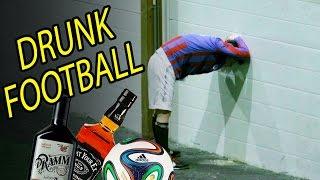 Пьяные норвежские комики провели футбольный матч