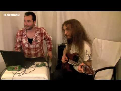 Guthrie Govan creates his 'Colin' TonePrint for TC Electronic's Corona Chorus