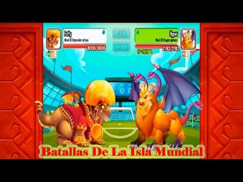 Batallas De La Isla Mundial De Dragon City