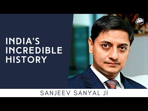 S1: Sanjeev Sanyal ji on India's Incredible History @ The Festival of Bharat