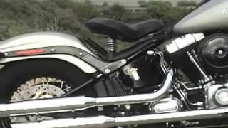 9. 2008 Harley-Davidson FLSTSB Cross Bones Motorcycle Review
