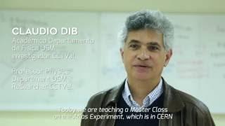 USM - Master Class Colaboración USM y CERN