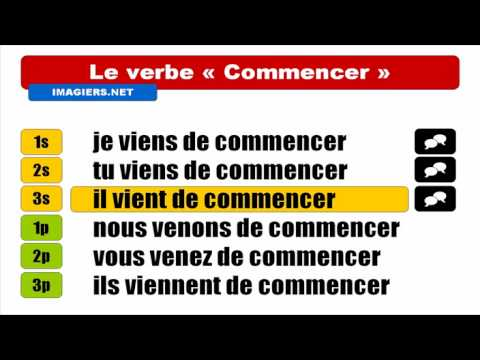 [Learn French] [Conjugaison] 22 verbes
