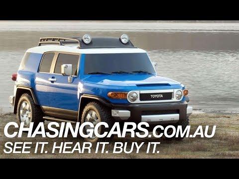 2014 Toyota FJ Cruiser SUV Review — ChasingCars.com.au