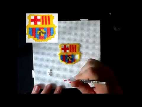 Assassins Creed Logo hablado hama beads - Youtube Downloader mp3