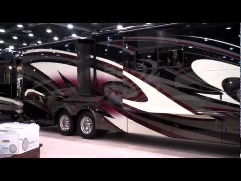 RV Review | New Tuscany Diesel Motorhomes 2012 (One of the Best Luxury Diesel Pushers).MP4
