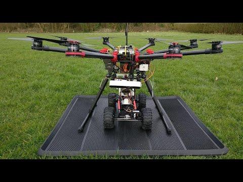 Infrastruktur von Städten: Drohne füllt Schlaglöcher  ...