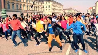 International Bollywood Flash Mob | Munich 2016 Video